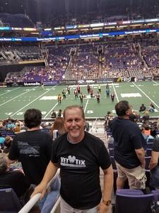 Matthew attended Arizona Rattlers vs. Green Bay Blizzard - IFL on Apr 21st 2018 via VetTix
