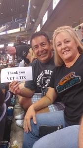 Ted attended Arizona Rattlers vs. Green Bay Blizzard - IFL on Apr 21st 2018 via VetTix