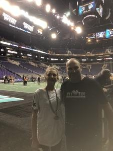 John attended Arizona Rattlers vs. Green Bay Blizzard - IFL on Apr 21st 2018 via VetTix