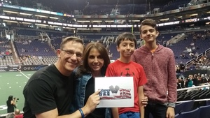 William attended Arizona Rattlers vs. Green Bay Blizzard - IFL on Apr 21st 2018 via VetTix