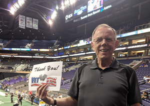 Charles attended Arizona Rattlers vs. Green Bay Blizzard - IFL on Apr 21st 2018 via VetTix
