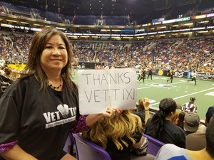 Ronald attended Arizona Rattlers vs. Green Bay Blizzard - IFL on Apr 21st 2018 via VetTix
