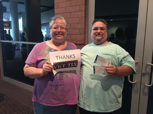 Donald attended Little Big Town - the Breakers Tour With Kacey Musgraves and Midland on Apr 21st 2018 via VetTix