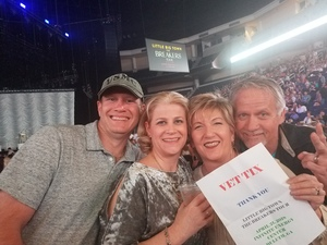 Jacob attended Little Big Town - the Breakers Tour With Kacey Musgraves and Midland on Apr 21st 2018 via VetTix