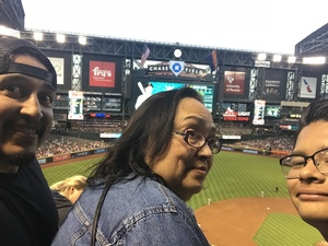 Jacob attended Arizona Diamondbacks vs. San Francisco Giants on Apr 17th 2018 via VetTix