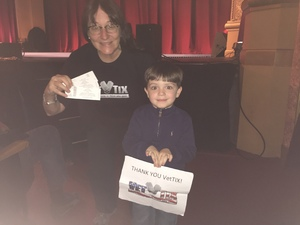 CindyEW94 attended The Stunt Dog Experience - Early Show on May 13th 2018 via VetTix