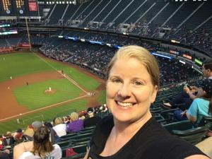 Faith attended Arizona Diamondbacks vs. San Francisco Giants on Apr 18th 2018 via VetTix