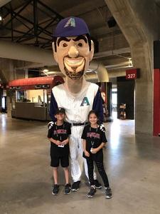 Alex attended Arizona Diamondbacks vs. San Francisco Giants on Apr 18th 2018 via VetTix