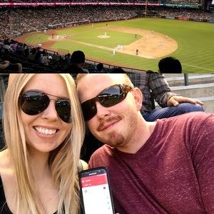 John attended Arizona Diamondbacks vs. San Diego Padres - MLB on Apr 20th 2018 via VetTix