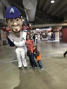 Louis attended Arizona Diamondbacks vs. San Diego Padres - MLB on Apr 20th 2018 via VetTix