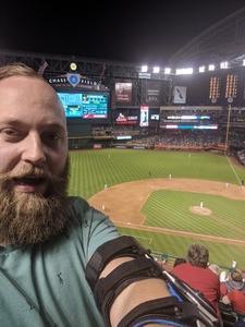 colby attended Arizona Diamondbacks vs. San Diego Padres - MLB on Apr 20th 2018 via VetTix
