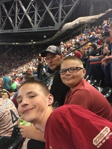 Cory attended Arizona Diamondbacks vs. San Diego Padres - MLB on Apr 21st 2018 via VetTix