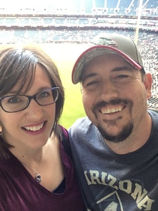 Jared attended Arizona Diamondbacks vs. San Diego Padres - MLB on Apr 21st 2018 via VetTix