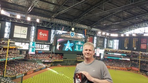 Charles attended Arizona Diamondbacks vs. San Diego Padres - MLB on Apr 21st 2018 via VetTix