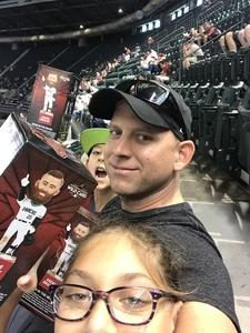 Shane attended Arizona Diamondbacks vs. San Diego Padres - MLB on Apr 21st 2018 via VetTix