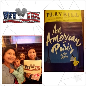 L Johnson attended An American in Paris - Sunday Matinee on May 6th 2018 via VetTix