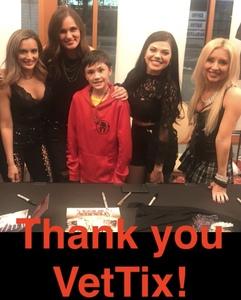 Cherrielyn attended Femmes of Rock on May 4th 2018 via VetTix