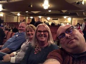 David attended Femmes of Rock on May 4th 2018 via VetTix