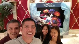 FERMIN attended Le Reve the Dream at the Wynn Theatre on Apr 15th 2018 via VetTix