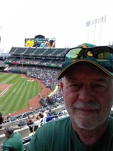 robert attended Oakland Athletics vs. Boston Red Sox - MLB on Apr 22nd 2018 via VetTix