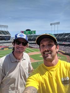 Mark attended Oakland Athletics vs. Boston Red Sox - MLB on Apr 22nd 2018 via VetTix