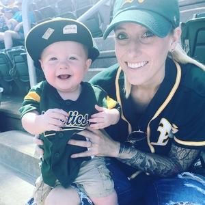 Britlyn attended Oakland Athletics vs. Boston Red Sox - MLB on Apr 22nd 2018 via VetTix