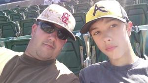 Richard attended Oakland Athletics vs. Boston Red Sox - MLB on Apr 22nd 2018 via VetTix