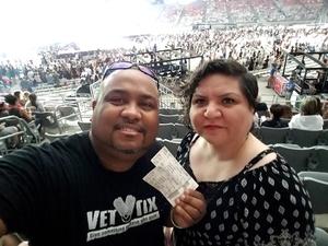 Lamont attended Taylor Swift Reputation Stadium Tour on May 8th 2018 via VetTix