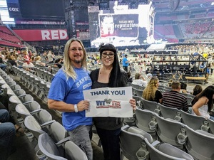 Ron attended Taylor Swift Reputation Stadium Tour on May 8th 2018 via VetTix