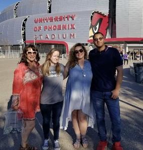 Tiffany attended Taylor Swift Reputation Stadium Tour on May 8th 2018 via VetTix