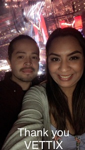 Joseph-Alexander attended Taylor Swift Reputation Stadium Tour on May 11th 2018 via VetTix