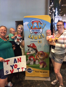Daniel attended Paw Patrol Live! Race to the Rescue - Presented by Vstar Entertainment on May 9th 2018 via VetTix