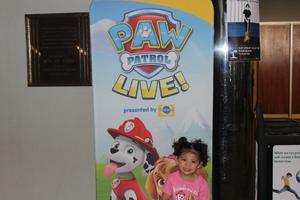 Kayla attended Paw Patrol Live! Race to the Rescue - Presented by Vstar Entertainment on May 9th 2018 via VetTix