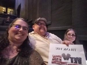 Christina attended Buddy Guy & Jonny Lang on May 13th 2018 via VetTix