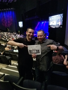 MSgt Travis H attended Buddy Guy & Jonny Lang on May 13th 2018 via VetTix