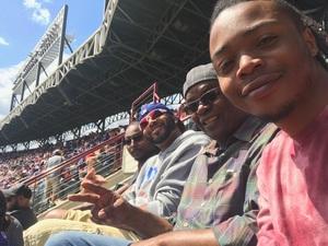 William attended Texas Rangers vs. Seattle Mariners - MLB on Apr 22nd 2018 via VetTix