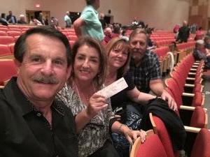 Charles attended Sgt. Pepper's 50th Anniversary With Classical Mystery Tour on Apr 20th 2018 via VetTix