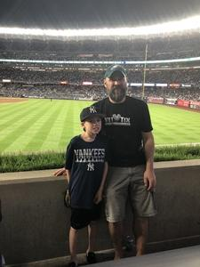 Michael attended New York Yankees vs. Oakland Athletics - MLB on May 11th 2018 via VetTix