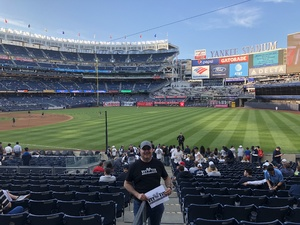 Rod attended New York Yankees vs. Boston Red Sox - MLB on May 9th 2018 via VetTix