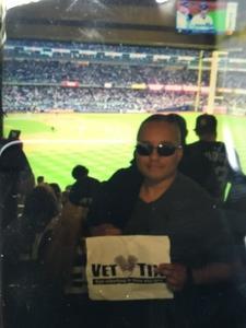 Z attended New York Yankees vs. Boston Red Sox - MLB on May 9th 2018 via VetTix