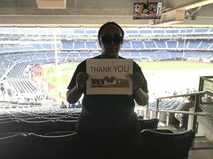 Petergail attended New York Yankees vs. Boston Red Sox - MLB on May 9th 2018 via VetTix
