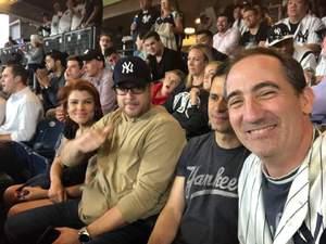 Thomas attended New York Yankees vs. Boston Red Sox - MLB on May 9th 2018 via VetTix