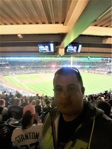 Timothy attended New York Yankees vs. Boston Red Sox - MLB on May 9th 2018 via VetTix