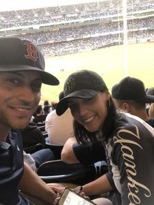 Christopher attended New York Yankees vs. Boston Red Sox - MLB on May 9th 2018 via VetTix