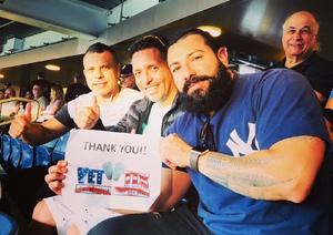 Carlos attended New York Yankees vs. Boston Red Sox - MLB on May 9th 2018 via VetTix