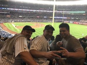 Paola attended New York Yankees vs. Boston Red Sox - MLB on May 9th 2018 via VetTix