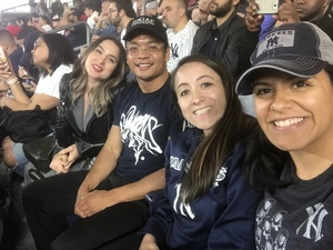 Jennifer attended New York Yankees vs. Boston Red Sox - MLB on May 9th 2018 via VetTix