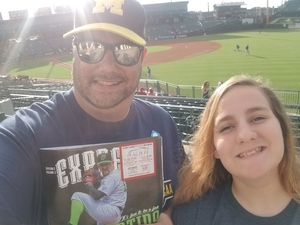 GILES attended Round Rock Express vs. Iowa Cubs - MiLB on May 21st 2018 via VetTix