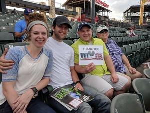 Jonathan attended Round Rock Express vs. Iowa Cubs - MiLB on May 21st 2018 via VetTix
