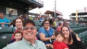 Ricardo attended Round Rock Express vs. Iowa Cubs - MiLB on May 21st 2018 via VetTix